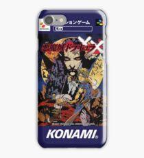 Castlevania Akumajo Dracula X Nintendo Super Famicom Japanese Box Art iPhone Case/Skin