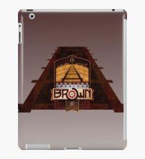 VINTAGE AMERICAN BROWN BEER. iPad Case/Skin