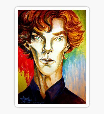 Sherlock: A Study in Colour Sticker