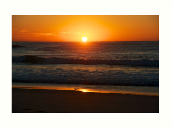 Sunrise on Sunshine Beach by Extraordinary Light