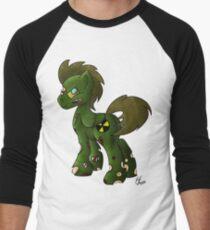 Zombie Stallion Men's Baseball ¾ T-Shirt