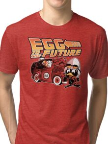 Egg To The Future Tri-blend T-Shirt