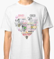 Kpop Groups  Classic T-Shirt