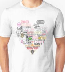 Kpop Groups  Unisex T-Shirt