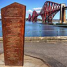 Forth Bridge Monument by Tom Gomez