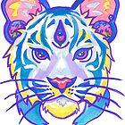 Clairvoyant Pastel Tiger by HiddenStash