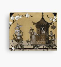 Mme. Oolong's Traveling Teahouse Canvas Print