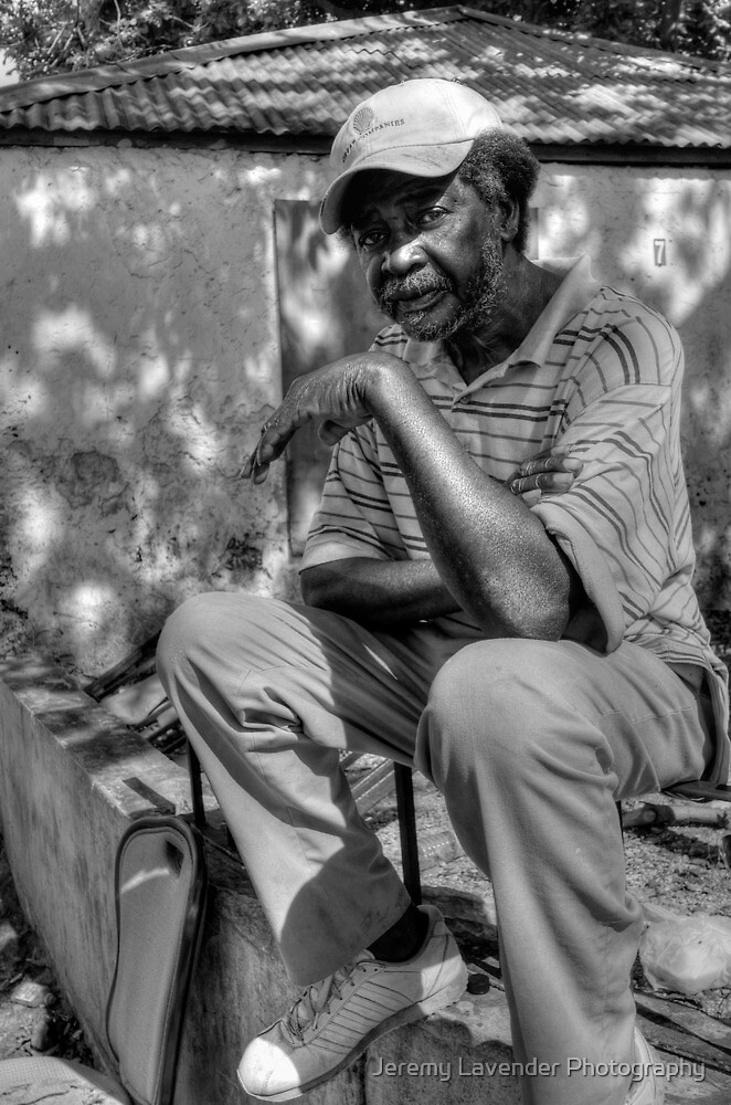 Geoffrey in Fox Hill Village, The Bahamas by Jeremy Lavender Photography