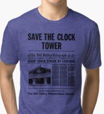 Save the Clocktower Tri-blend T-Shirt