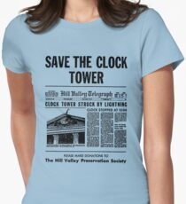 Save the Clocktower Women's Fitted T-Shirt