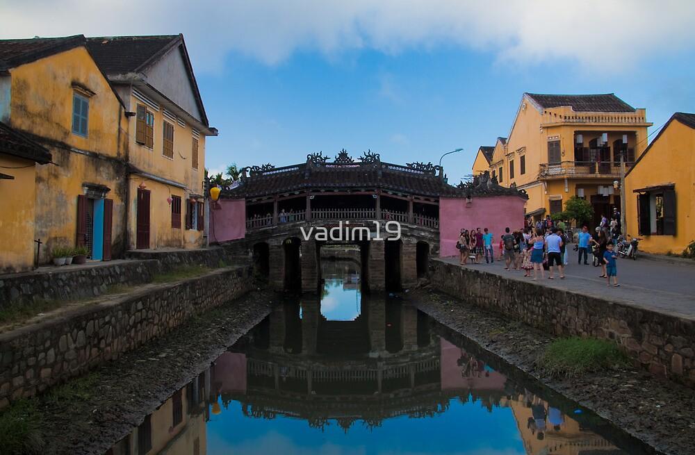 Vietnam. Hoi An. Japanese Bridge. by vadim19
