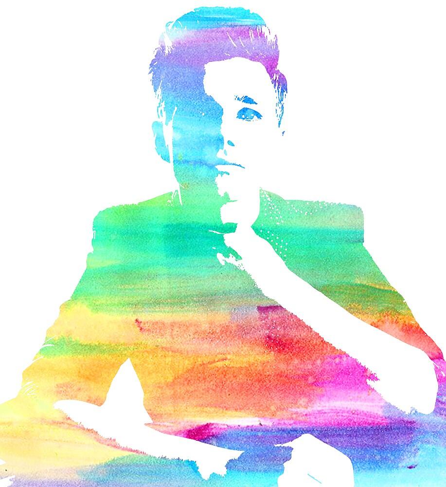 rainbow chris by cocosuspenders