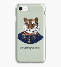 Classy Thug Tiger iPhone Case/Skin