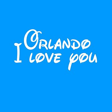 Orlando I Love you by disneylander11