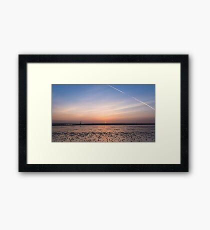 Humber Estuary Sunrise Framed Print