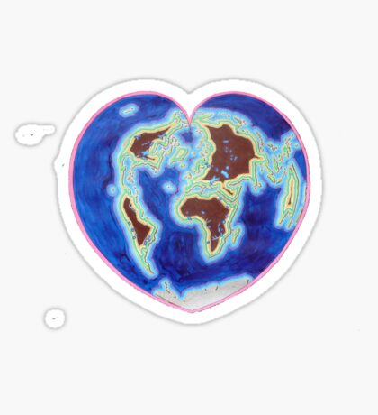 Love Our Earth Sticker