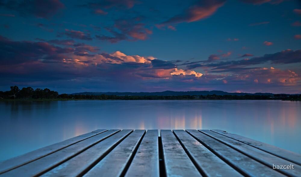 Lake Albert Sunset by bazcelt