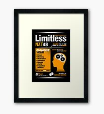 Limitless Pills - NZT 48 (Original Version) Framed Print
