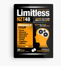 Limitless Pills - NZT 48 (Original Version) Metal Print