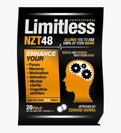 Limitless Pills - NZT 48 (Original Version) Poster