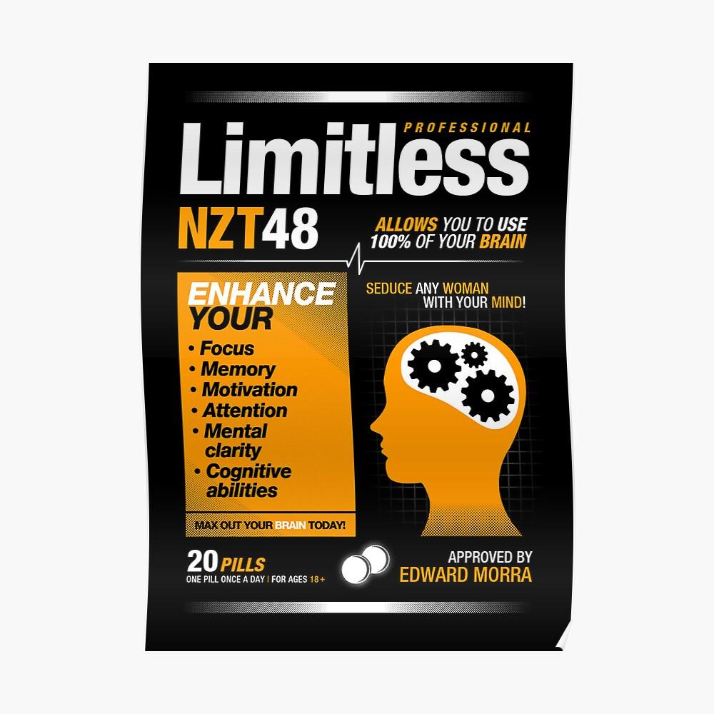 Píldoras sin límite - NZT 48 (versión original) Póster
