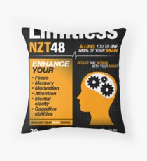 Limitless Pills - NZT 48 (Original Version) Throw Pillow