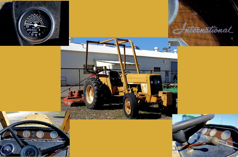 Ye Ole International Tractor by aprilann