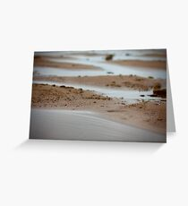 Wet Sands Greeting Card