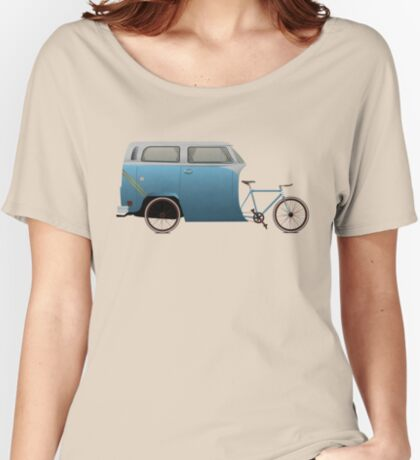 Camper Bike Women's Relaxed Fit T-Shirt