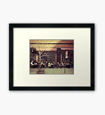 New York City Dinner Framed Print