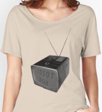 Idiot box Women's Relaxed Fit T-Shirt