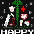 Nurse Supplies Christmas Tree by EthosWear