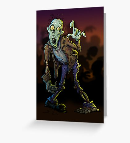 Zombleee (print) Greeting Card