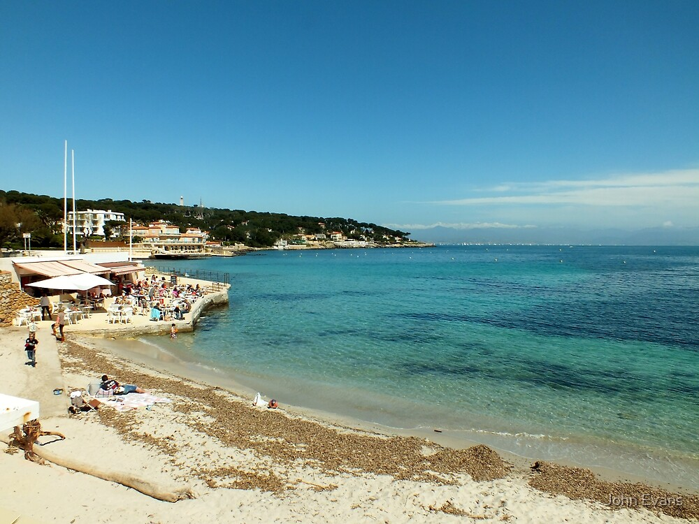 The view from La Garoupe, Cap d'Antibes by John Evans