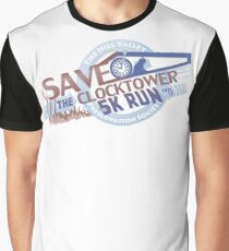 Save the Clocktower 5k Run Graphic T-Shirt