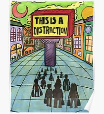 This is a Distraction Poster
