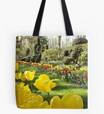 April Tulip Gardens Tote Bag