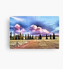 Stockinbingal Sunset Clouds Canvas Print