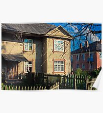 Old Wooden House On The Countryside Poster