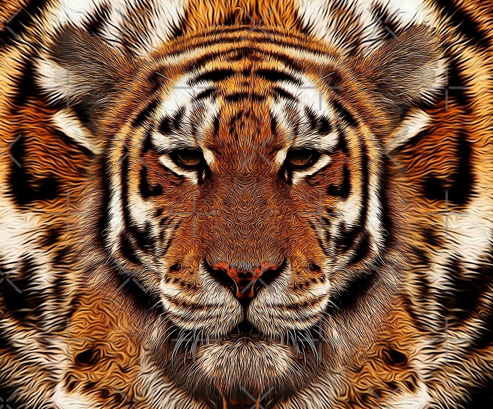camouflage tiger by Vin  Zzep