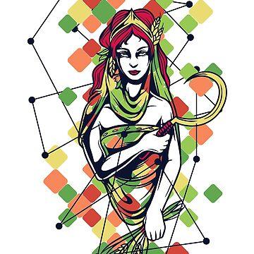 Mitología griega y dioses - Hera de jpvalery