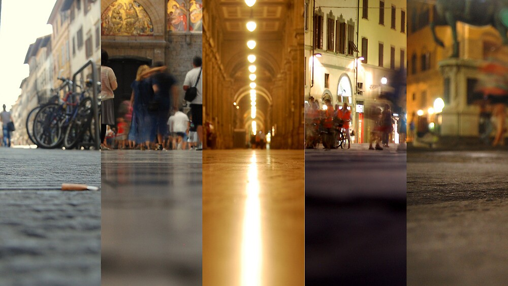 Florence from the ground by lauracronin