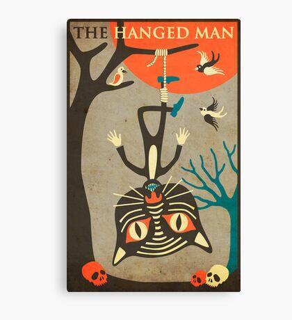 Tarot Card Cat: The Hanged Man Canvas Print
