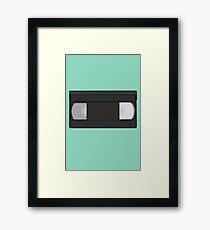 VHS tape Framed Print