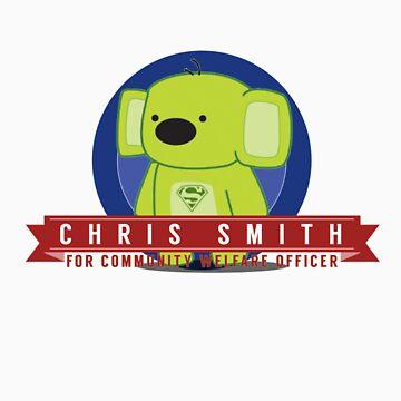 Chris Smith for HvZ Community Welfare Officer by sammatthews91