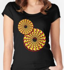 Aztec Spin Women's Fitted Scoop T-Shirt