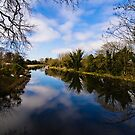 Canal at Kintbury Berkshire by mlphoto
