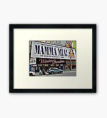 Mamma Mia, Winter Garden Theatre, Times Square, NYC Framed Print