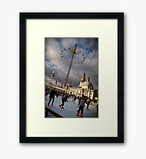 Cardiff Winter Wonderland Framed Print