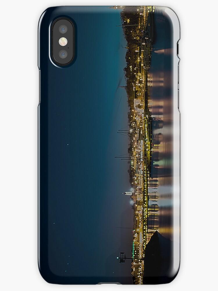 City Lights of Port Washington by James Meyer